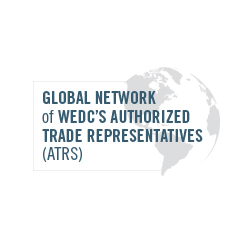 Global Network of WEDC's Authorized Trade Representatives (ATRS) logo