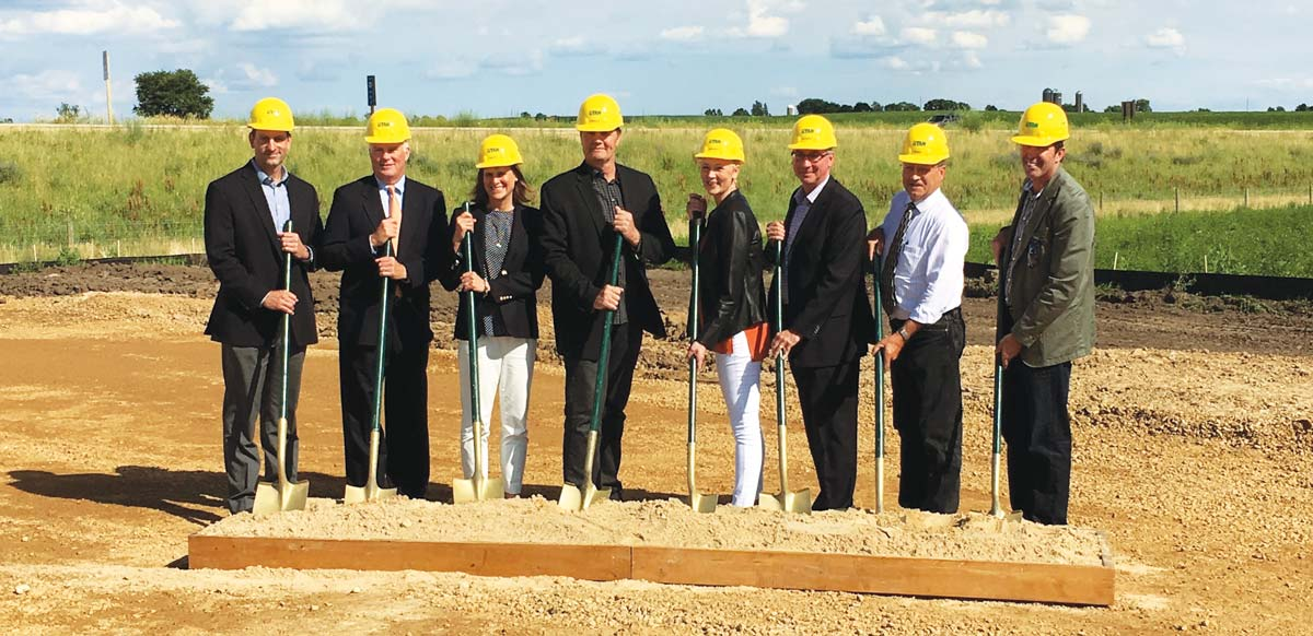 Little Potato Company breaking ground at WEDC Certified Site