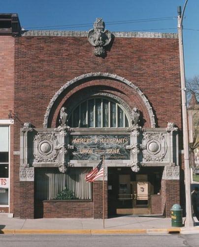 Prairie School-Farmers and Merchants Bank-Columbus - WEDC