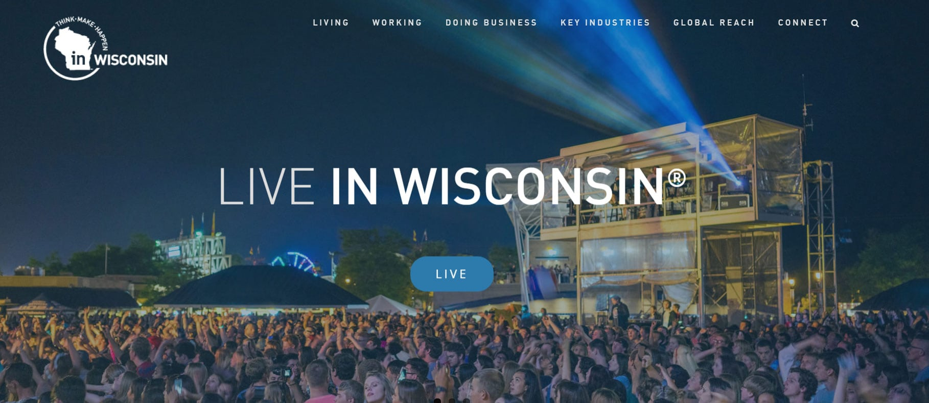 Inwisconsin.com homepage