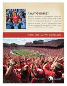 UW Alumni ad