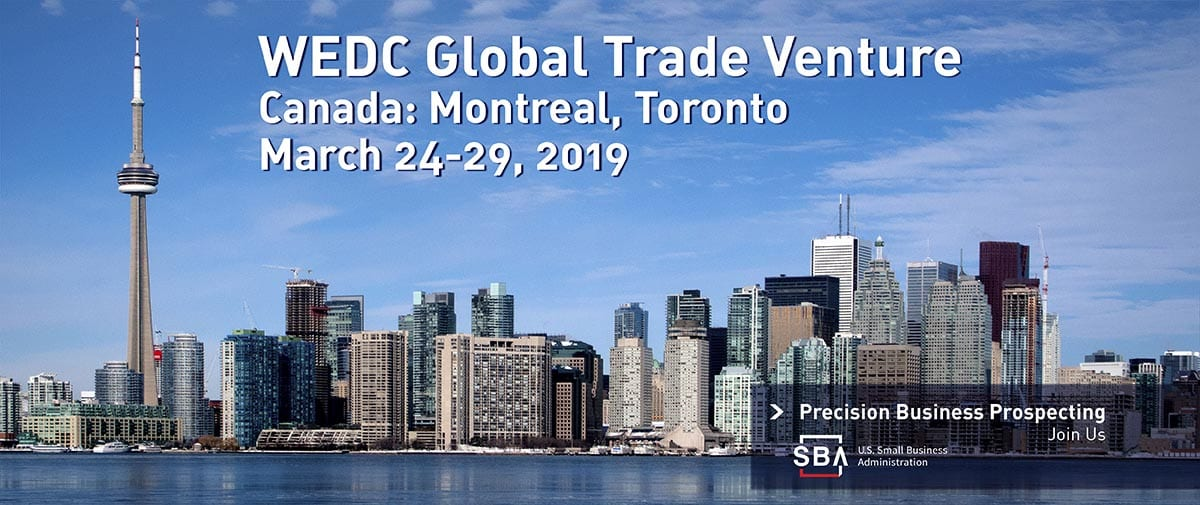Banner image for Canada trade venture, 2019