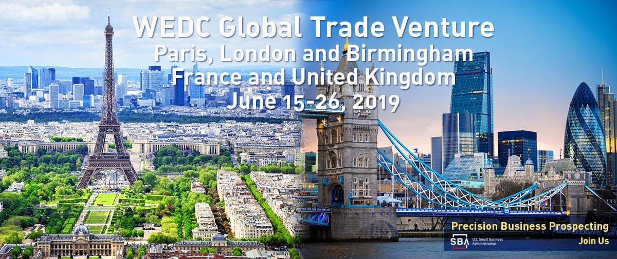 Join the WEDC Global Trade Venture to France and United Kingdom