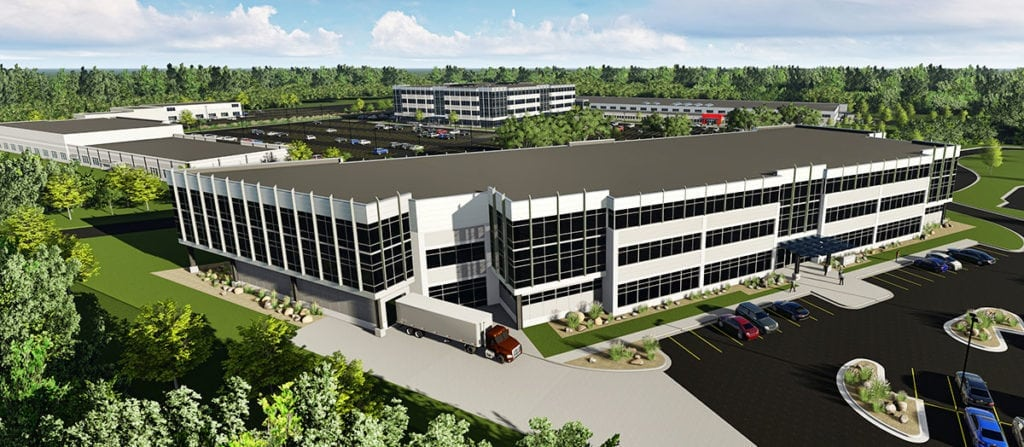 Rendering of new Milwaukee Tool building