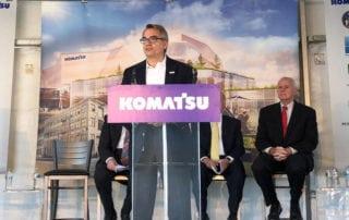 Komatsu Mining Corporation plans to build new manufacturing headquarters facility