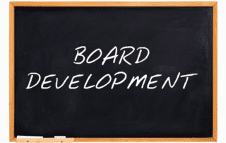 Board Development blackboard