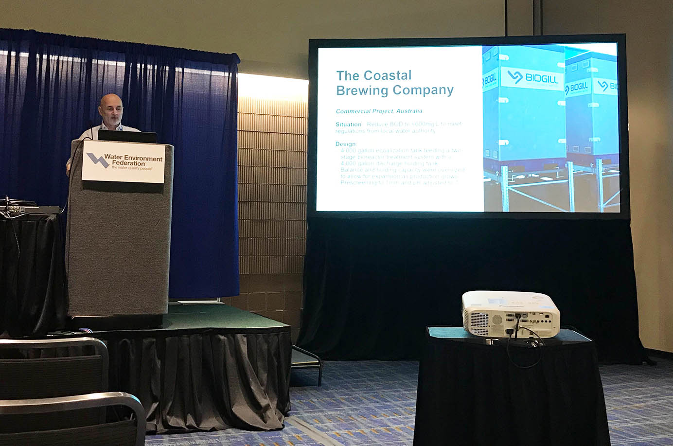 BioGill speaking at WEFTEC