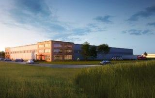 Seal-Rite Door relocation building rendering