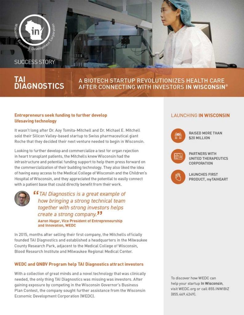 TAI Diagnostics Case Study