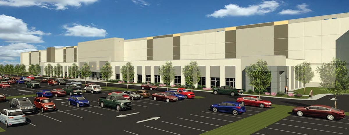 Rendering Oak Creek Amazon facility