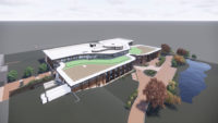 Rendering of Promega's R&D facility in Madison, Wis.