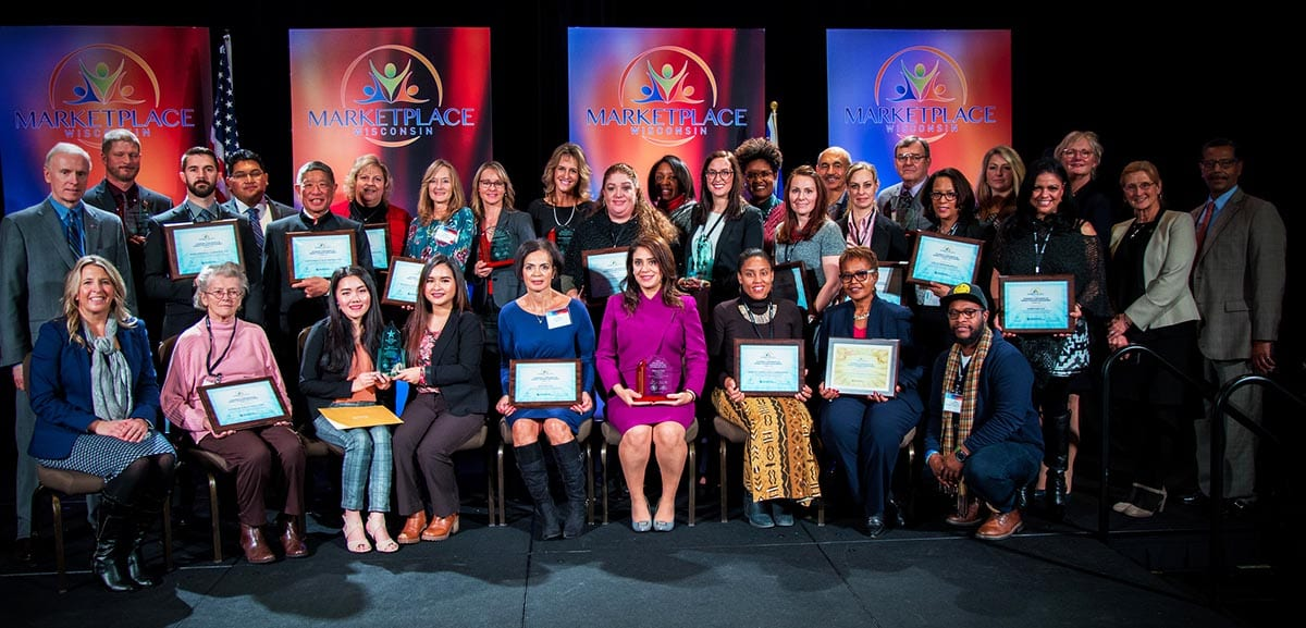 MARKETPLACE Wisconsin conference award winners