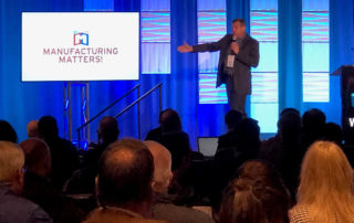 Dr. Bill Mitchell speaks at Manufacturing Matters 2019