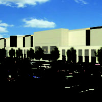 Rendering of Oak Creek Amazon facility