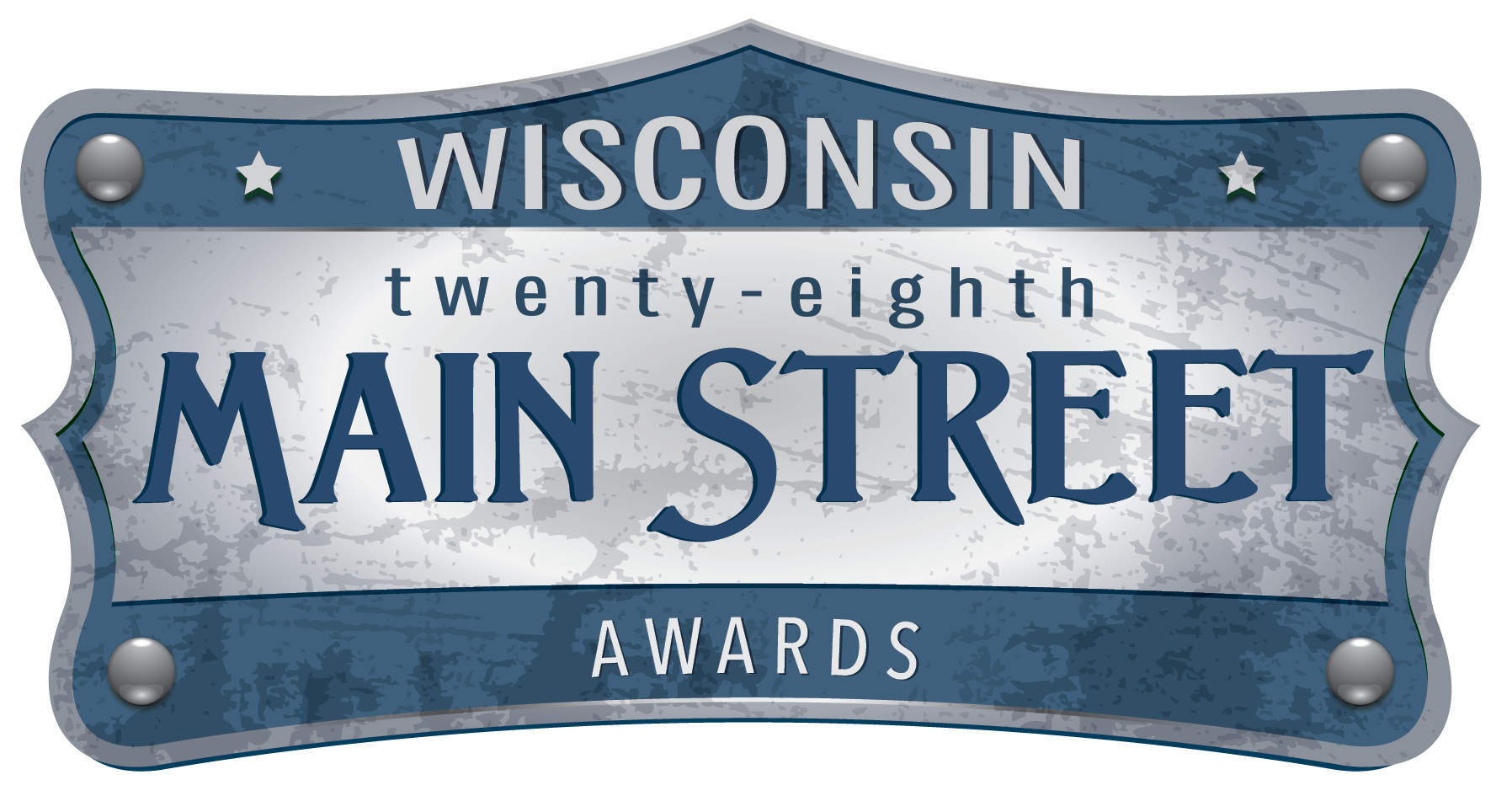 Logo for the 28th Annual Wisconsin Main Street Awards
