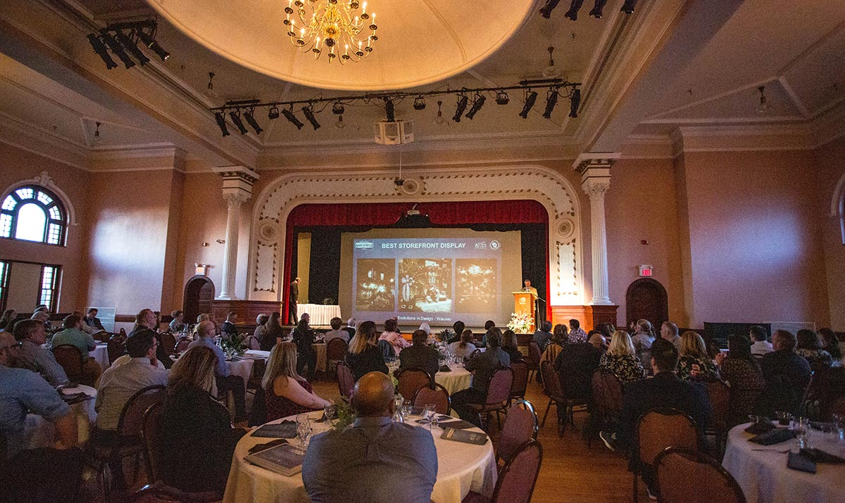 28th Annual Wisconsin Main Street Awards ceremony was held in Chippewa Falls