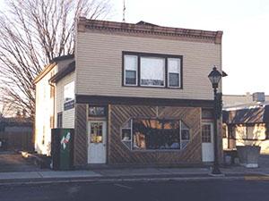 Original facade of Anthony's