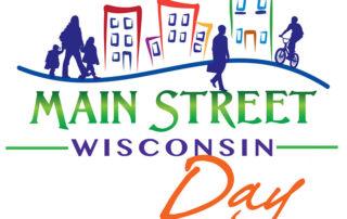 Wisconsin Main Street Day logo