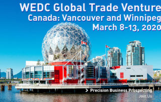 Join WEDC for a trade venture to Canada in March 2020