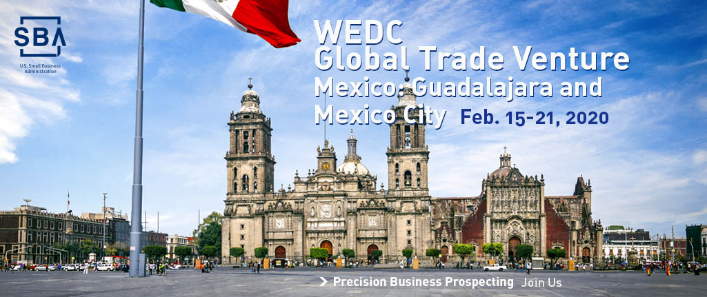 Join WEDC for a global trade venture to Mexico in March 2020