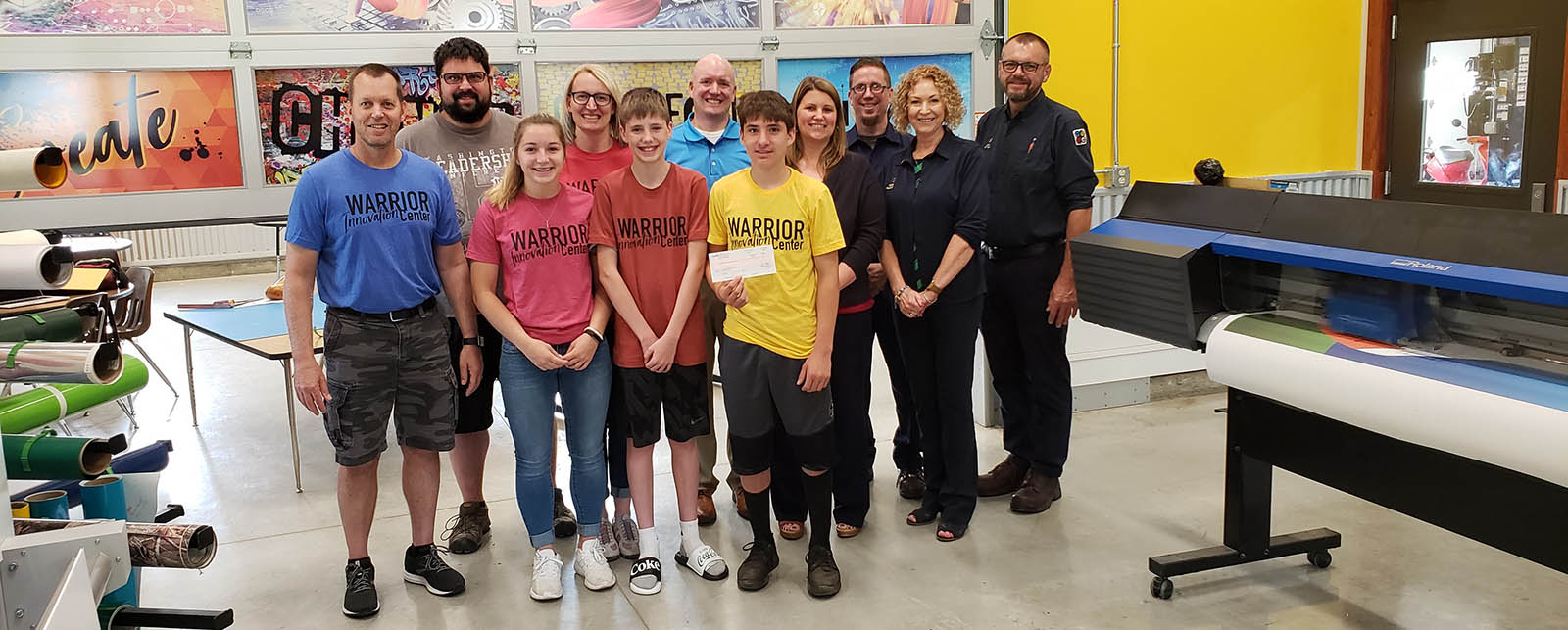 Printing company Quad works with students at Waupun Innovation Center