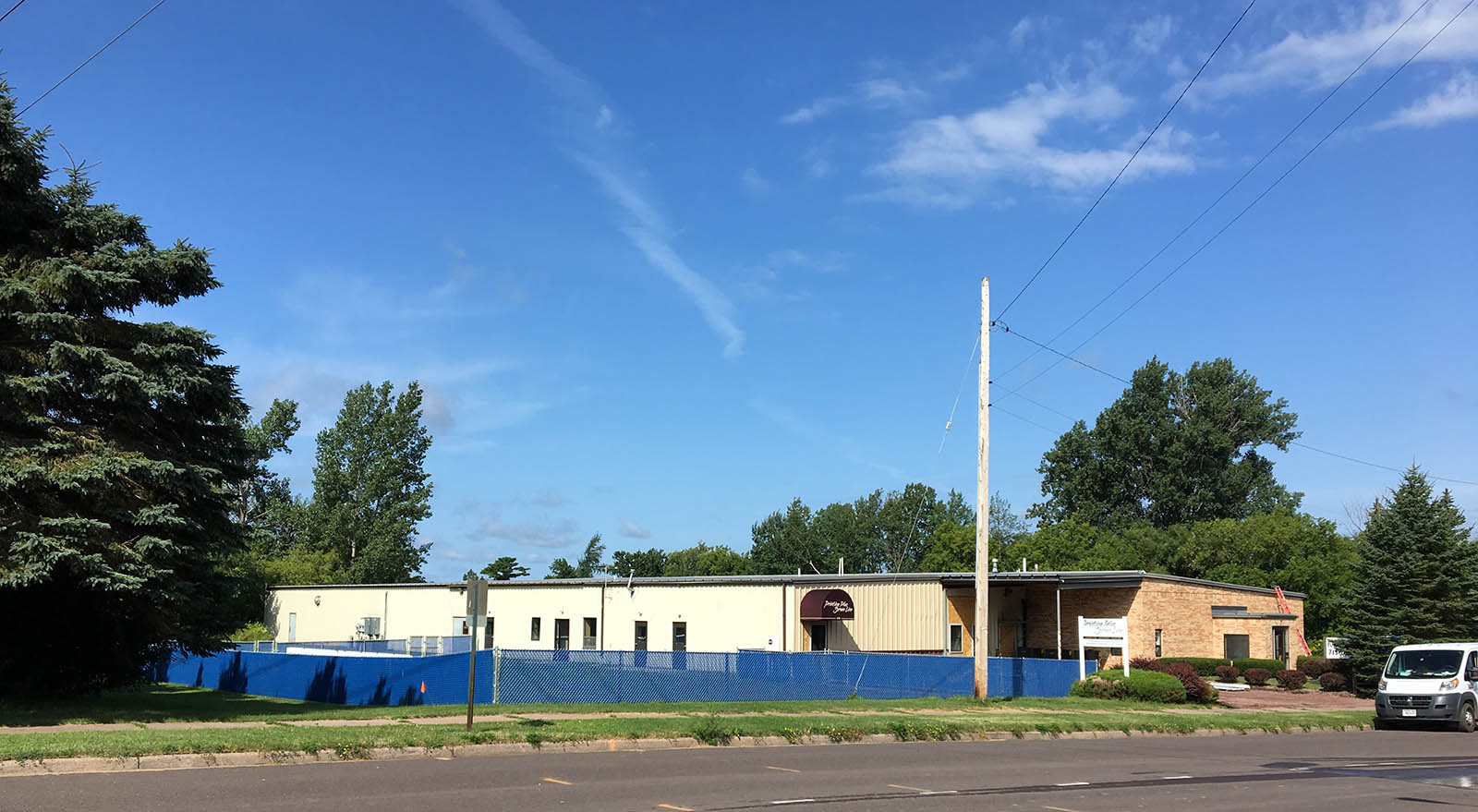 Exterior shot of EverGrow Learning Center in Ashland