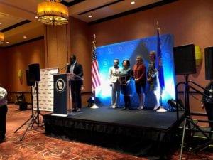 MARKETPALCE Community Economic Development Award presentation