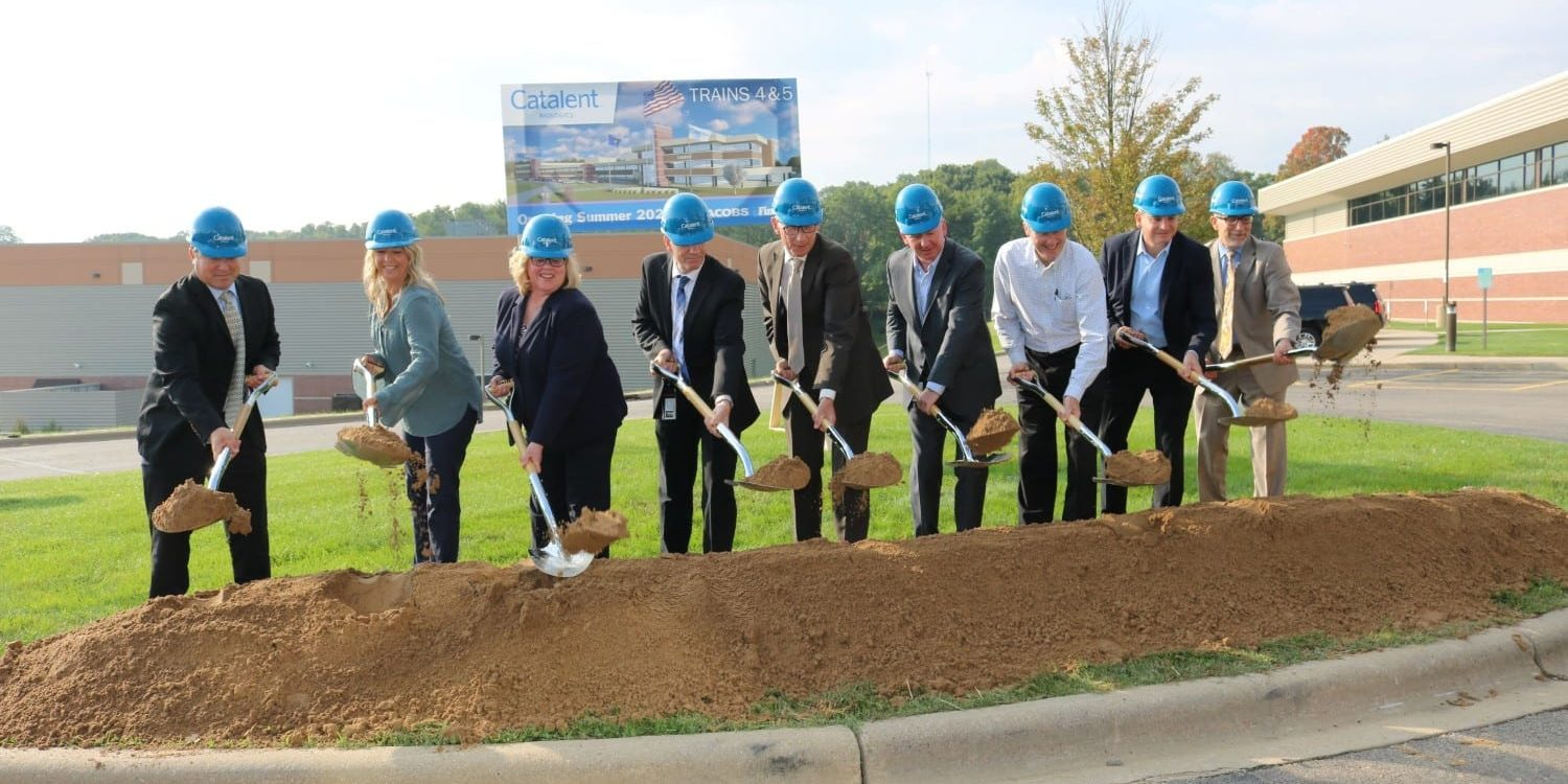 Catalent shovel ceremony
